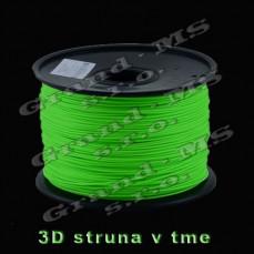 """Svietiace tlačové struny """"ABS"""" pre 3D tlačiarne"""