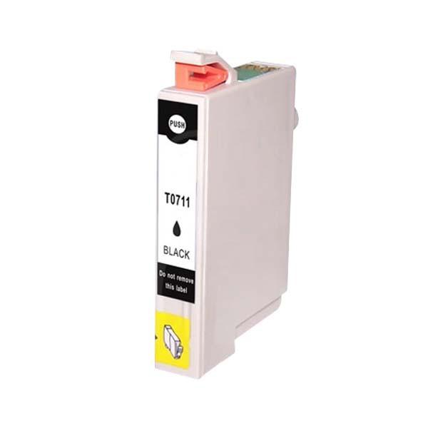 Atramentová kazeta kompatibilná s Epson T0711 Bk (C13T07114011)