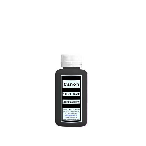 Atrament - pre kazety CANON PGI-5 Bk - 100 ml - čierny