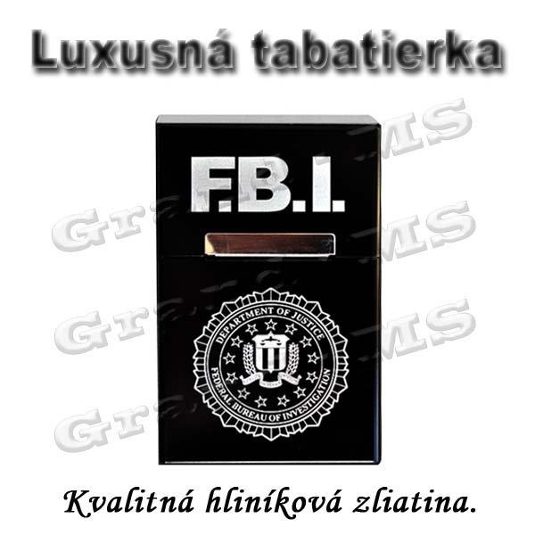 Tabatierka, púzdro, obal či krabička na cigarety - FBI