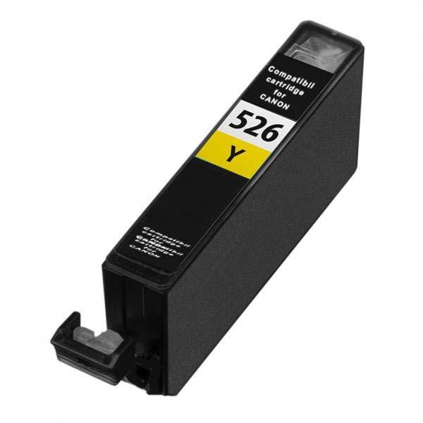 Atramentová kazeta kompatibilná s Canon CLI-526Y s čipom (4543B001)