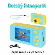 Digitálny mini fotoaparát pre deti  s 2GB kartou