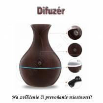 Aroma difuzér s funkciou zvlhčovania vzduchu - typ A