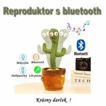 Veselý tancujúci KAKTUS so 120 piesňami a s bluetooth 3v1