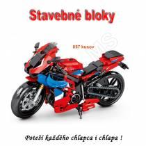Stavebné bloky - Motocykel 857ks typ C