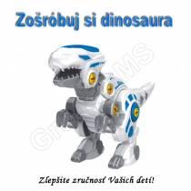 Detská skladacia vzdelávacia hračka - Dinosaurus Velociraptor