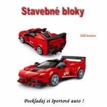 Stavebné bloky - Pretekárske auto 5100