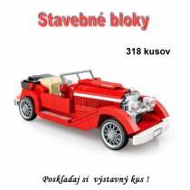 Stavebné bloky - Veterán 318ks typ B