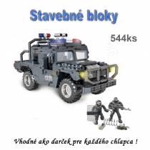 Stavebnica - CALL  A  SWAT  terénne vozidlo 544ks