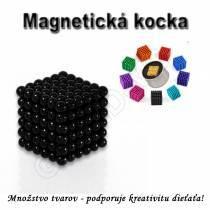 Magnetická NEOKOCKA - NEOCUBE magnetické guličky čierne 216ks, 5mm