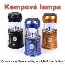 Kempingová solárna lampa YD-3589
