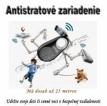 Antistratový bluetooth lokátor