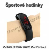 Športové digitálne hodinky QUEEN-US 0216, čierne
