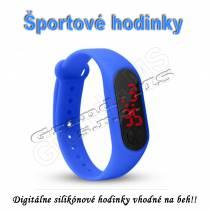Športové digitálne hodinky QUEEN-US 0216, zelené