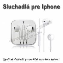Sluchadlá  s mikrofónom pre Iphone