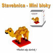 Stavebnica - mini bloky pre deti i dospelých Opica