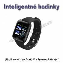 Športové inteligentné hodinky 116plus IP67 vodeodolné