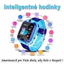 Inteligentné Smart hodinky pre deti Q528 s GPS lokátorom ružové