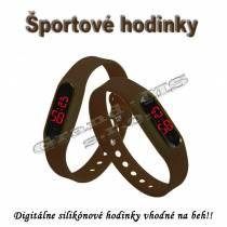 Športové digitálne hodinky QUEEN-US 0217, žlté