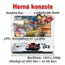 3D herná konzola PANDORA BOX11 s arkádovými hrami