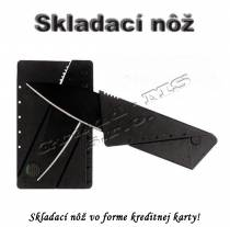 Skladací nôž vo veľkosti kreditnej karty