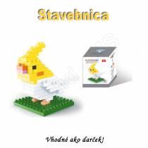 Stavebnica - mini bloky pre deti i dospelých  Psík