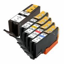 RED PRINT, sada kompatibilná s Canon PGI-550XL Bk +CLI-551XL CMYK s čipom (46431B001, 6444B001, 6445B001, 6446B001, 6443B001)