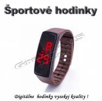 Športové digitálne hodinky QUEEN-US 0218, čierne