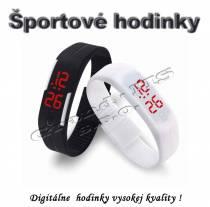 Športové digitálne hodinky QUEEN-US 0219, čierne