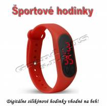 Športové digitálne hodinky QUEEN-US 0216, zeleno-modrá