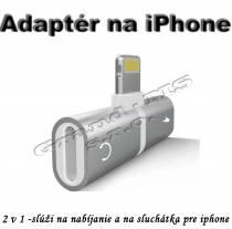 Konektor, adaptér na sluchátka a nabíjanie pre iPhone 7,8,X