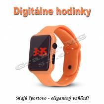 Športovo-elegantné digitálne hodinky QUEEN-US 0220, sýto-ružová