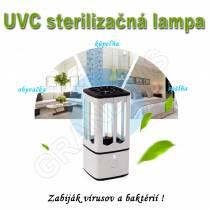 Prenosná sterilizačná-germicídna mini UVC lampa COD1 -  ZABIJÁK VÍRUSOV A BAKTÉRIÍ