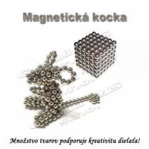 Magnetická NEOKOCKA, magnetické guličky 216ks, 3mm