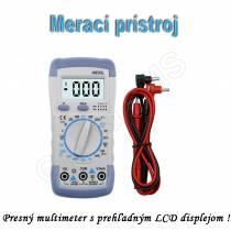 Multifunkčný digitálny merací prístroj MULTI-A830L multimeter