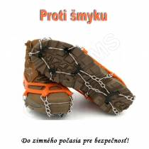 Turistické protišmykové návleky na topánky - NESMEKY