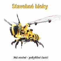 Stavebné bloky - Včela  HONEY BEE 236ks
