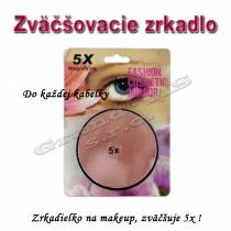 Zrkadielko na makeup do kabelky - zväčšenie až o 500%.