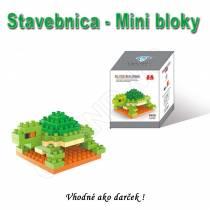 Stavebnica - mini bloky pre deti i dospelých Korytnačka