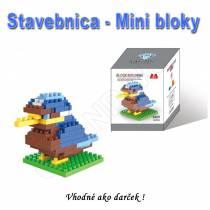 Stavebnica - mini bloky pre deti i dospelých Vtáčik 2