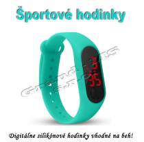 Športové digitálne hodinky QUEEN-US 0216, modré