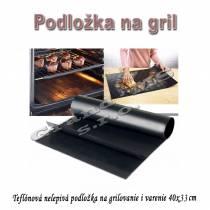 Teflónová nelepivá podložka na grilovanie i varenie 40x33 cm