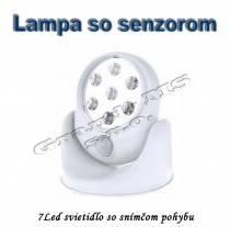 Svietidlo-lampa so senzorom pohybu