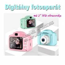 Digitálny mini fotoaparát pre deti