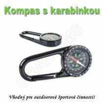 Vreckový  kompas s karabinkou C40A