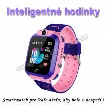 Inteligentné Smart hodinky pre deti Q528 s GPS lokátorom