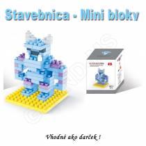 Stavebnica - mini bloky pre deti i dospelých  Žirafa