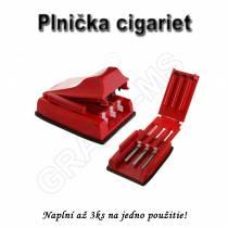 Manuálna plnička cigariet  na 3ks