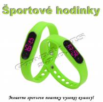 Športové digitálne hodinky QUEEN-US 0217, zelené