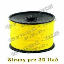Tlačová struna PLA - 1,75 mm - žltá
